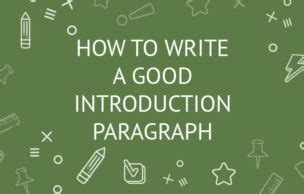 How to write a good research dissertation introduction